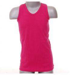 Lány pamut atléta színes sima nyakú (FL002)