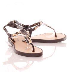 Nagy díszes, könnyű lábujjközös női gumiszandál (MSD2015-3)