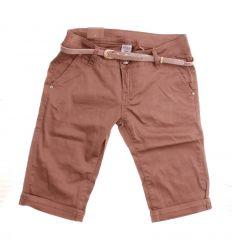 Elöl ferde zsebű, hátul állzsebes, női vászon térd nadrág (R1602-24,R1620-138)