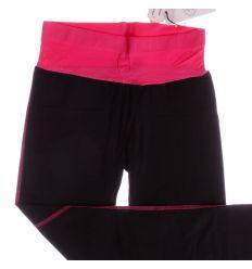 Derekán színes, gumis női pamut leggings, nadrág (F9372)