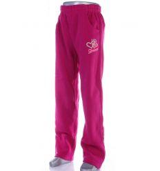 2 szíves, vastag, egyenes szárú lány melegítő nadrág, alsó (PL-137)