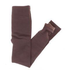 Egyszínű, szőrme béléses, női rugalmas leggings (SL9022)