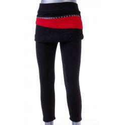 Bundás, csíkos szoknyás, lány szoknya-leggings (A4173)