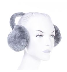 Puha, szőrmés, egyszínű  fülvédő