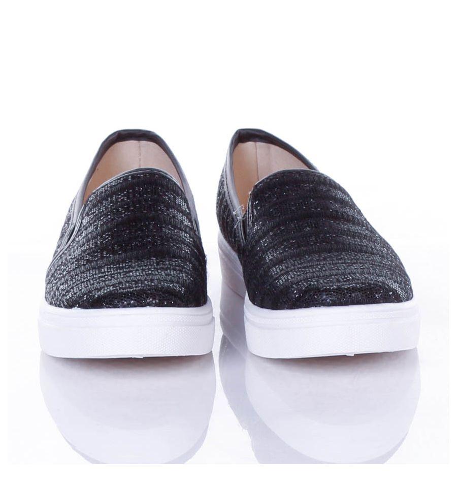 Egyszínű, 2 oldalt gumis, női velúr slip on cipő (jx40), fehér, 38