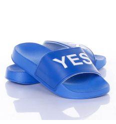YES/NO feliratos női, kamasz gumi papucs (1160)
