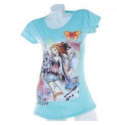 Shopping csajos, Bonjour női pamut hosszított felső póló