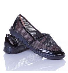 Csillámos, lakkos-hálós, varrott mintás női belebújós cipő (L61669,L61668,L61667,L61666)