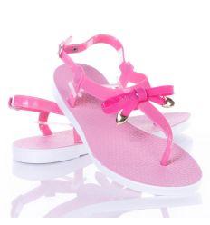 Masnis, lábujjközös női gumi szandál (258C)