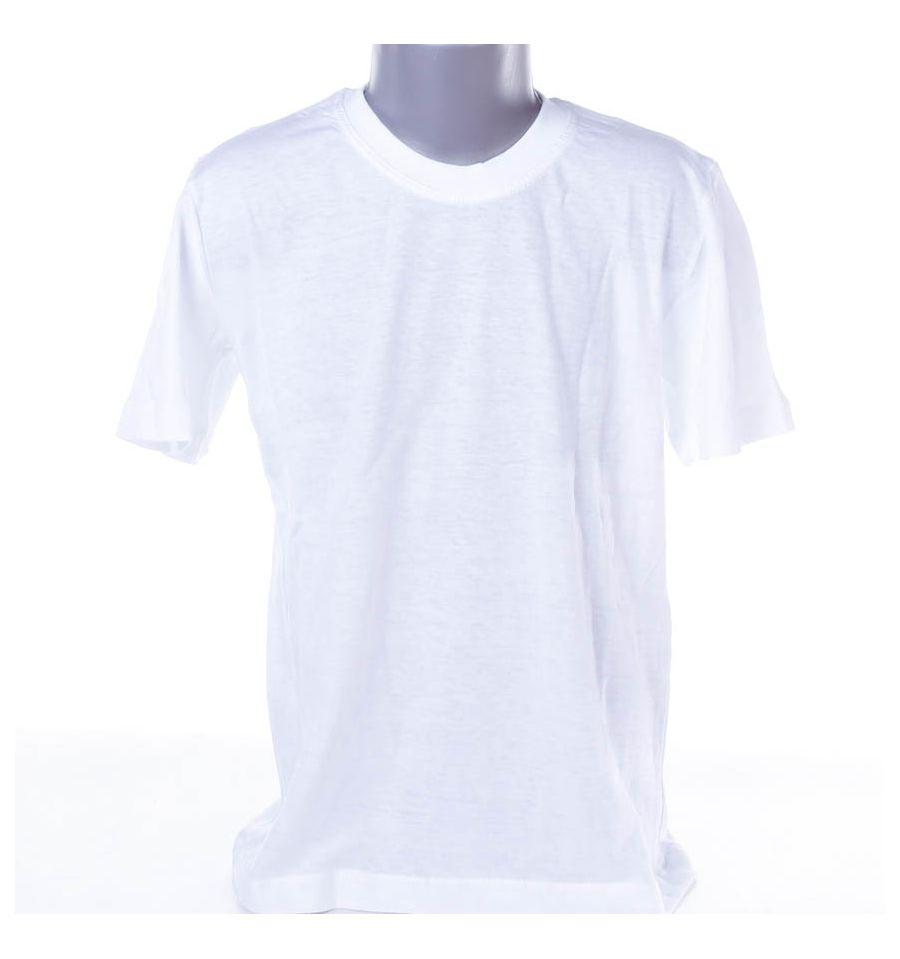 bf56667b38 Gyerek fehér póló pamut