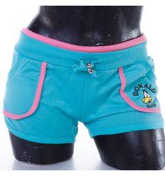 Donald kacsás, pamut női rövid nadrág (J-986)