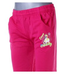 Lovas mintás, bevarrt gumis lány pamut melegítő nadrág, alsó (PL-157)