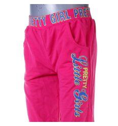 Pretty Girl feliratos, passzés aljú lány pamutos melegítő alsó, nadrág (X-1455)