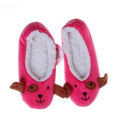 Állat figurás, gumi talpú női mamusz cipő (NM7518)