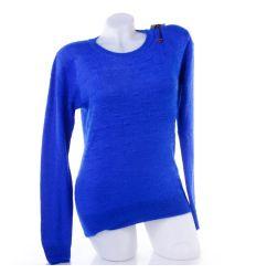 Pihe-puha, kis mintás női kötött pulóver, felső (YR6561)