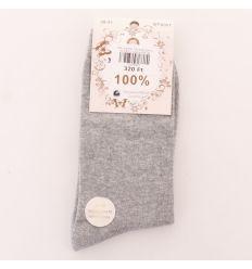 Egyszínű, orrvarrás nélküli női normál pamut zokni (WP2001)