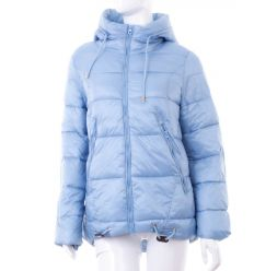 bfc3adaad9b6 Szőrme béléses, hátul hosszabb, puha anyagú női kapucnis kabát (WS-1703- ...