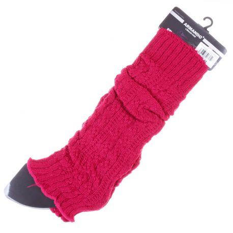 Anyagában mintás, kötött lábszárvédő egyszínű (AWD1021)