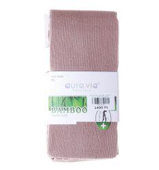 Egyszínű, bordás, bambuszos anyagú női harisnyanadrág (NHZ8228)