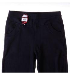 Moletti, bélelt, egyszínű, zsebes női leggings, nadrág (6272)