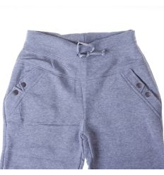 Moletti, belül bolyhos, zsebénél patentos női melegítő nadrág, alsó (Z-718)