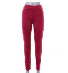 Bársonyos anyagú, fenekén zsebes női leggings, nadrág (8109)