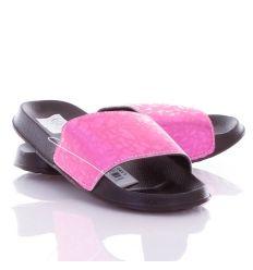 Fényes, mintás pántú, könnyű női gumi papucs (T936)
