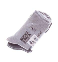 5pár/csomag kis mintás, férfi pamut zokni vegyes színekkel (F501)