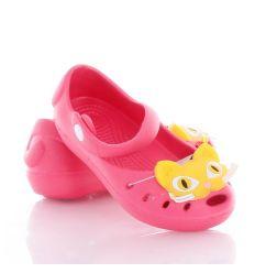 Cicás balerina fazonú lány gumi cipő, klumpa (T312)