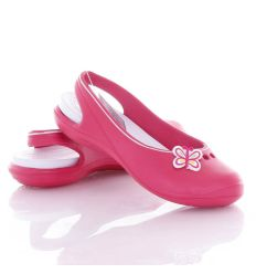 Pillangós lány gumi szandál, cipő (T459)