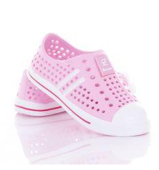 Tornacipő fazonú, kamasz lány gumi cipő, klumpa (T449)
