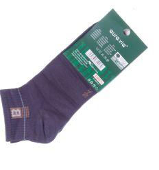 Szárán kis mintás, bambuszos anyagú férfi boka titok zokni (FFD1951)