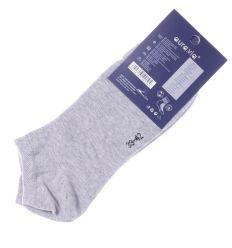 Egyszínű pamut férfi titok boka zokni (FD576)