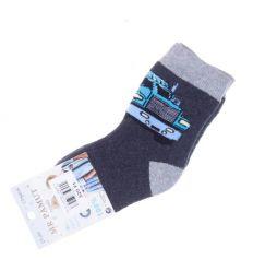 Termo, vastag, vegyes mintás fiú pamut zokni (CP5806)