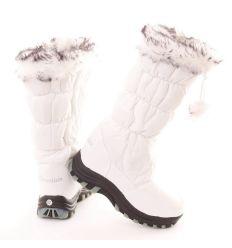 Bundás hosszú szárú szőrmés cipzárral szabályozható női hótaposó (B03A, B03B)