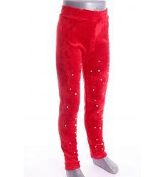 Gyöngyös, bunda béléses, bársony lányka leggings, nadrág (C157-28)