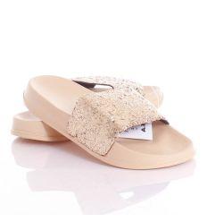 Csillámos pántú, könnyű női gumi papucs (ABM2048-5209)