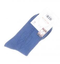 Női pamut anyagában masnis mintás normál zokni (N8858)