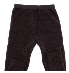 Bundás elasztikus vonalas mintás zsebes női leggings nadrág (5061B)