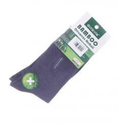 Kis mintás, bambuszos anyagú, férfi normál zokni (FF1765)