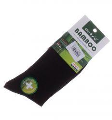 Egyszínű, bambuszos férfi normál zokni (FF9191)