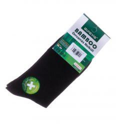 Egyszínű, bambuszos férfi normál zokni (FF9308)