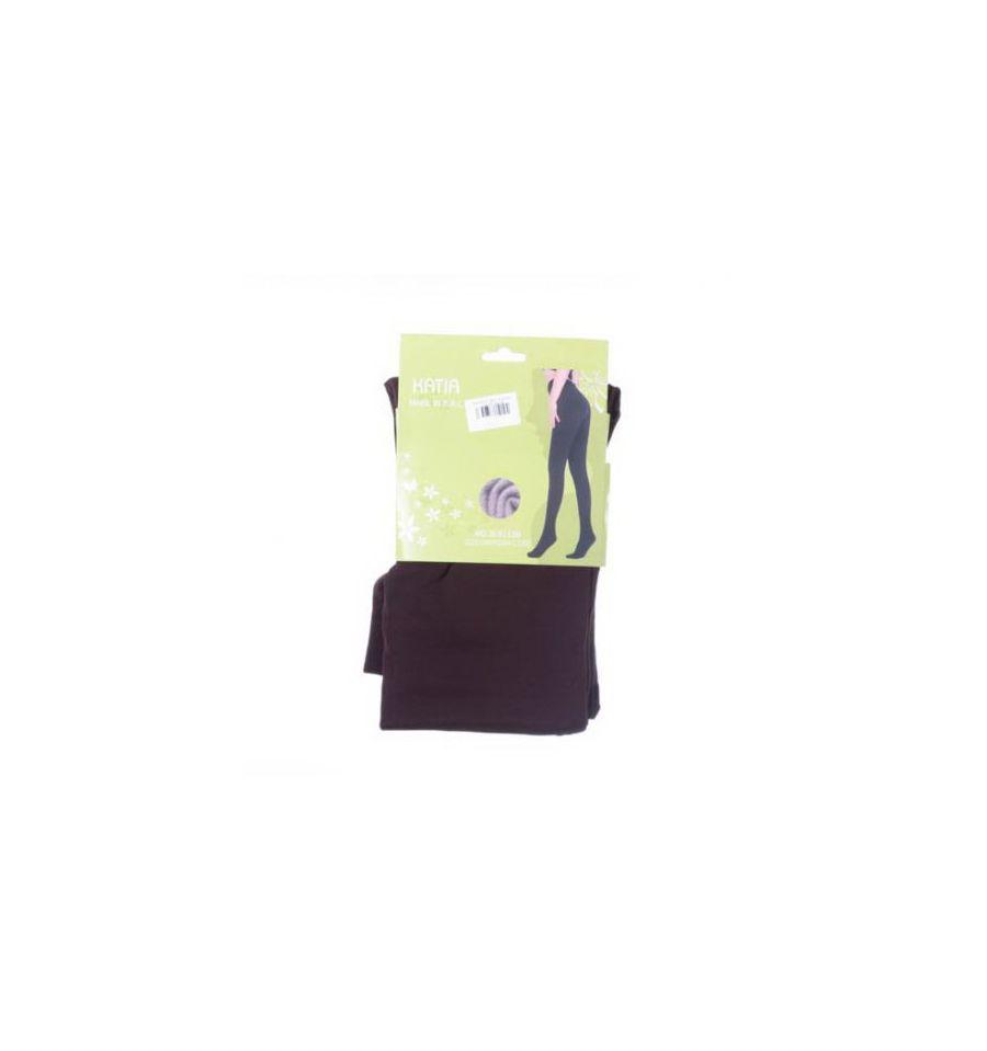 80d1516a48 ... Egyszínű, belül bolyhos, lábfejes női termo leggings, harisnyanadrág  (SL9113B) ...