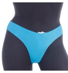 Hátul csipkés, lézervágott, elasztikus női tanga, alsó (W8026)